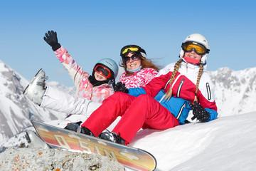 Joie enfant ski vacances d'hiver