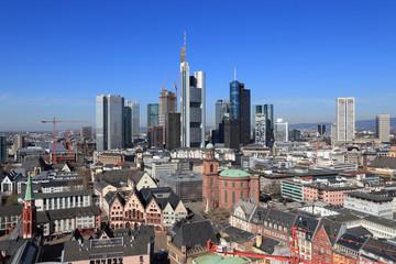 Frankfurt am Main (April 2013) - Blick vom Domturm