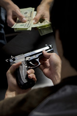 Illegal gun trade