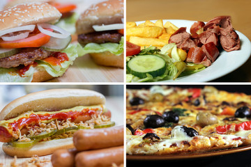 fast food picture collection