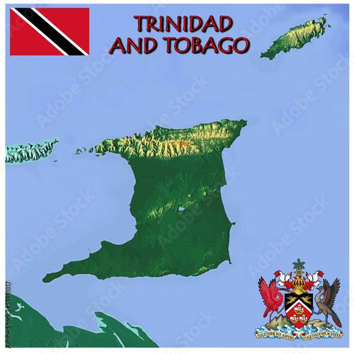 Bandera De Costa Rica likewise Meyan 4t 45 Rainforest moreover National Emblems Of Trinidad And Tobago likewise Flag of Trinidad and Tobago as well Wapen van de Kaaimaneilanden. on national motto of trinidad and tobago