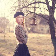 beautiful stylish blonde