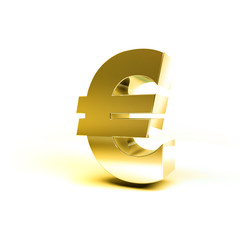 Metal Money Sign Euro