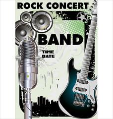 Rock concert - Public viewing