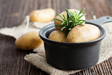 Rosmarin und Kartoffeln
