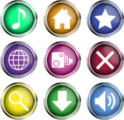 App icons metal