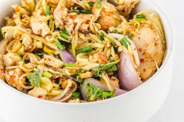 Thai food pork