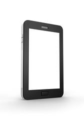 Illustration of black tablet pc