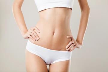 Perfect Slim Woman Body. Diet Concept