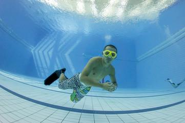 Free diving training