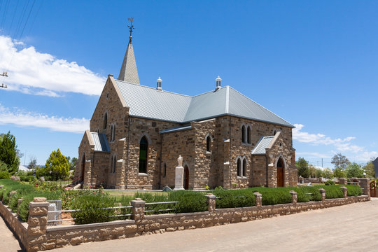Sandstone Church in Williston, South Africa