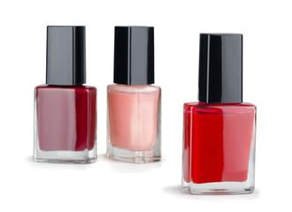 Three manicure nail polish