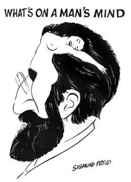 """What is on a man's mind"" by Sigmund Freud"