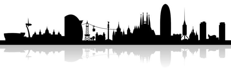 Urban Skyline of Barcelona