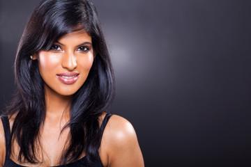 beautiful indian model close up