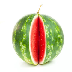 Notched striped watermelon