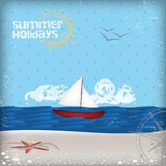 Summer Background - summer holidays