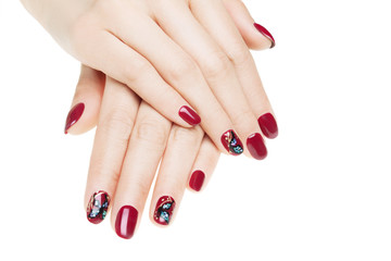 Nail art butterfly