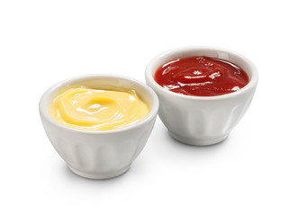 Fototapeta Maionese e ketchup obraz