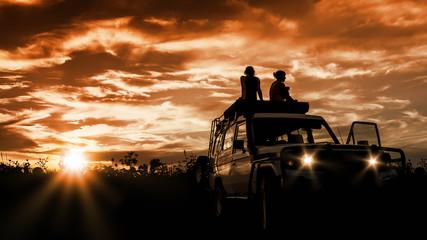 adventure sunset