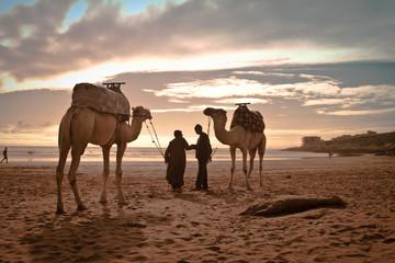 In de dag Marokko Spiaggia di Taghazout