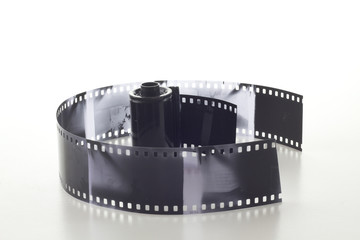 35mm film isolated