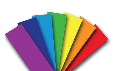 rainbow colour book background