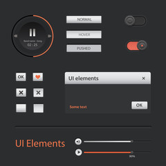 User interface elements set