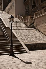 escaliers à Montmartre/Paris