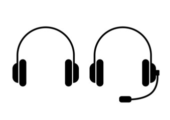 Headphones icons