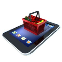 SHOPPING SUR SMARTPHONE