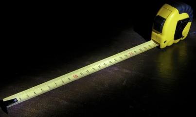 tape measure light brush