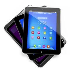 Set of Tablet PCs