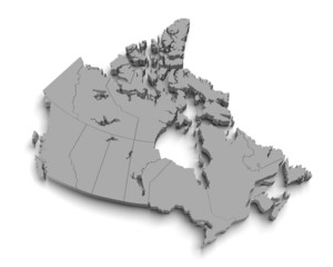 Map Of Canada 3d.3d Canada Map Photos Royalty Free Images Graphics Vectors