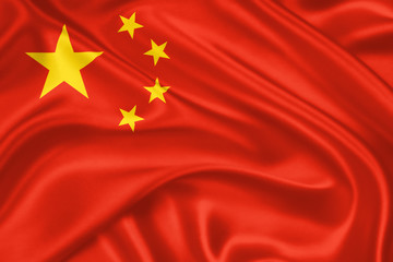 Foto op Aluminium China flag of China