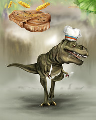 T-REX Hungry