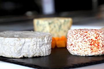 Fromage, camembert, plateau, chèvre, laitier, choix