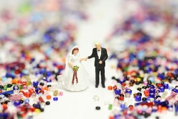 ビーズと結婚式