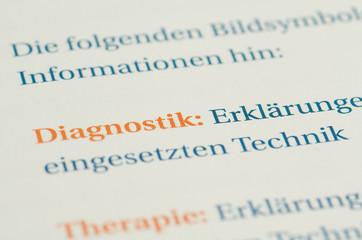 Diagnostik Definition