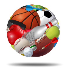 Fototapete - Sports Ball