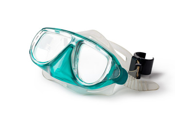 snorkel and mask Wall mural