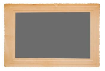 Old frame