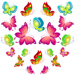 Canvas Prints Butterflies butterfly,butterflies vector