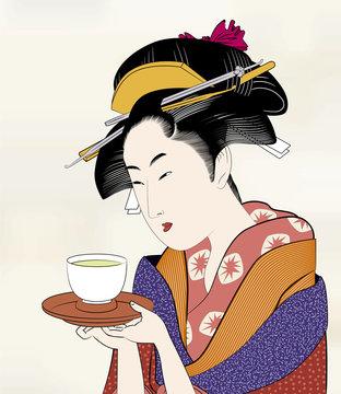 浮世絵 江戸美人画16