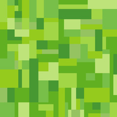 seamless green square Rectangle  background vector