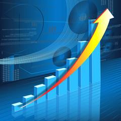Business 3D Graph