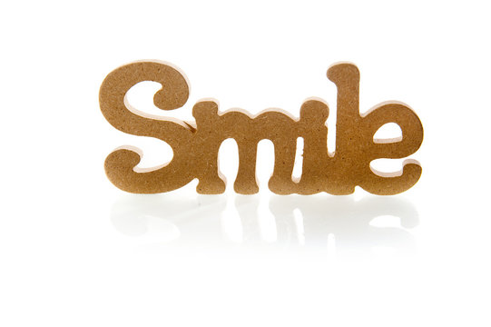 word 'smile'