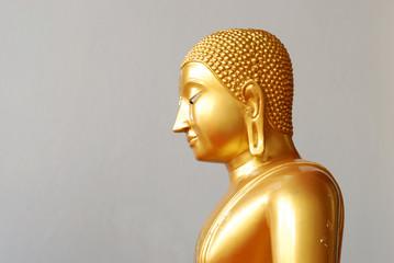 Gold Buddha in Ayutthaya