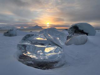 Arctic ice - landscape