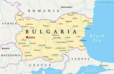 Bulgaria Map (Bulgarien Landkarte)